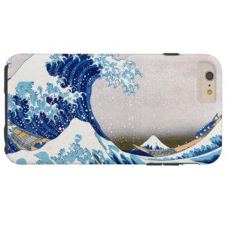 北斎 Great Wave Off Kanagawa Hokusai Fine Art Tough iPhone 6 Plus Case