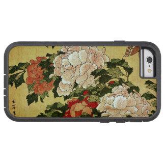 北斎 Hokusai Peonies & Butterflies Fine Art Tough Xtreme iPhone 6 Case