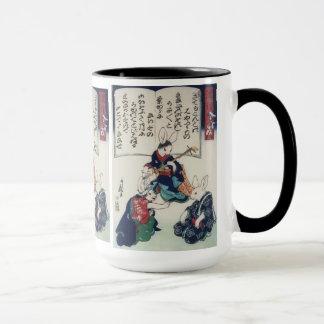 國芳 Ken Rabbit Epidemic Kuniyoshi Fine Art Mug