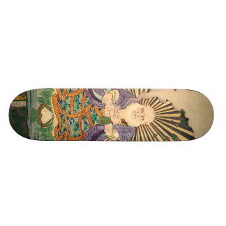 奇術師, 豊国 Magician, Toyokuni, Ukiyo-e Skate Board Deck