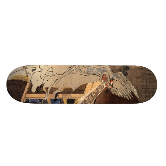 妖怪, 国芳 Japanese Zombie, Kuniyoshi, Ukiyo-e Skate Deck