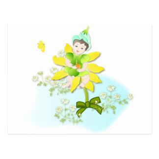 妖精イラスト ポストカード ポストカード