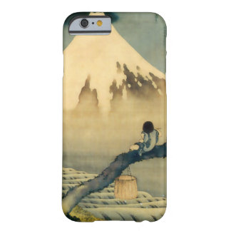 富士と少年, 北斎 Mount Fuji and Boy, Hokusai, Ukiyo-e Barely There iPhone 6 Case