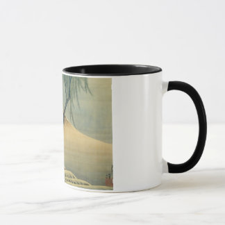富士と少年, 北斎 Mount Fuji and Boy, Hokusai, Ukiyo-e Mug