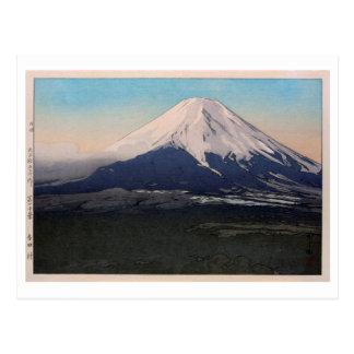 富士十景 吉田村, Ten views of Fuji, Yoshida vil.,Yoshida Postcard