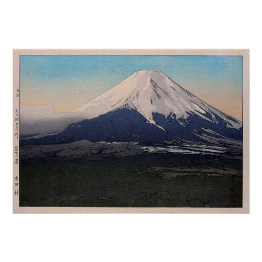 富士十景 吉田村, Ten views of Fuji, Yoshida vil.,Yoshida