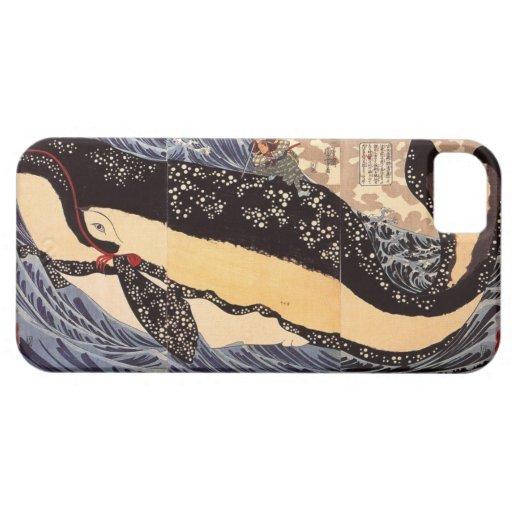巨鯨, 国芳 Big Whale, Kuniyoshi, Ukiyo-e iPhone 5 Cases