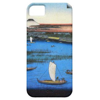 帆掛け舟と富士, 広重 Sailing Ship & Mt. Fuji, Hiroshige Barely There iPhone 5 Case