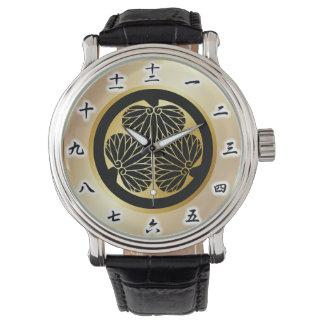 徳川 家紋, Tokugawa KAMON, Japanese Family Crest Watches