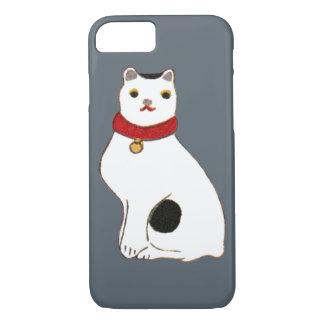 日本の猫の人形, Doll of The Japanese Cat iPhone 7 Case