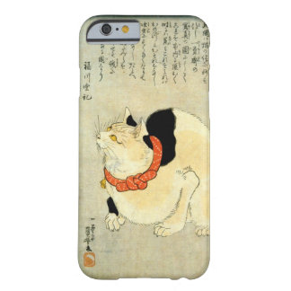 日本猫, 国芳 Japanese Cat, Kuniyoshi, Ukiyo-e Barely There iPhone 6 Case