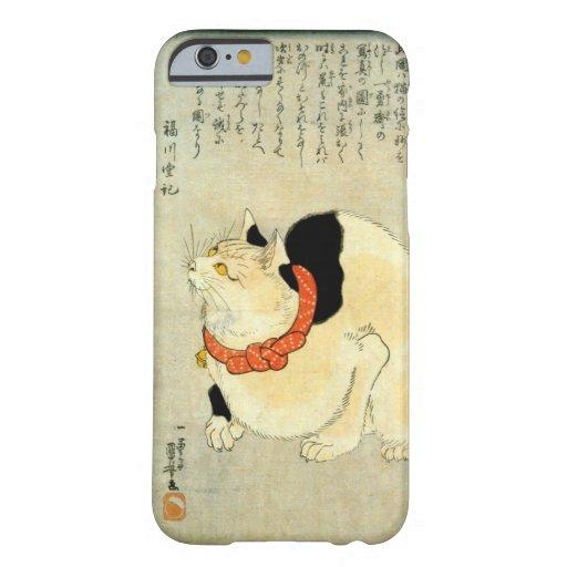 日本猫, 国芳 Japanese Cat, Kuniyoshi, Ukiyo-e iPhone 6 Case