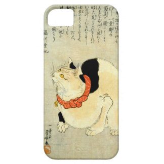 日本猫, 国芳 Japanese Cat, Kuniyoshi, Ukiyo-e iPhone 5 Covers