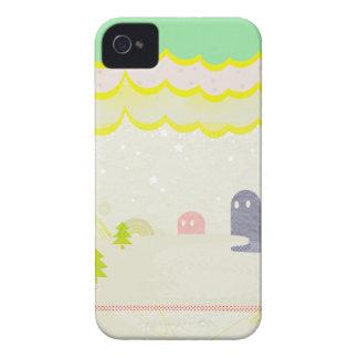 星の国の不思議な生き物Delta01typeD かわいいiPhone ケース カバー iPhone 4 Case