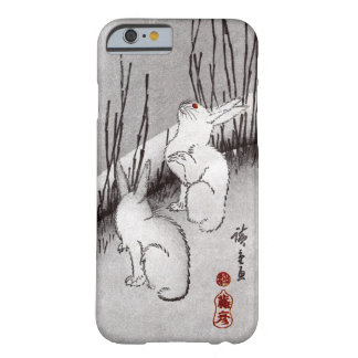 月に兎, 広重 Moon and Rabbits, Hiroshige, Ukiyo-e Barely There iPhone 6 Case