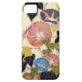 朝顔, 北斎 Morning Glory, Hokusai, Ukiyo-e iPhone 5 Cases