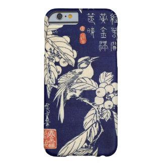 枇杷に鳥, 広重 Bird and Loquat, Hiroshige, Ukiyo-e Barely There iPhone 6 Case