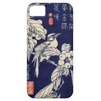 枇杷に鳥, 広重 Bird and Loquat, Hiroshige, Ukiyo-e iPhone 5 Cases