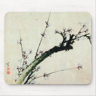 梅花, 北斎 Plum Blossoms, Hokusai, Ukiyo-e Mouse Mat