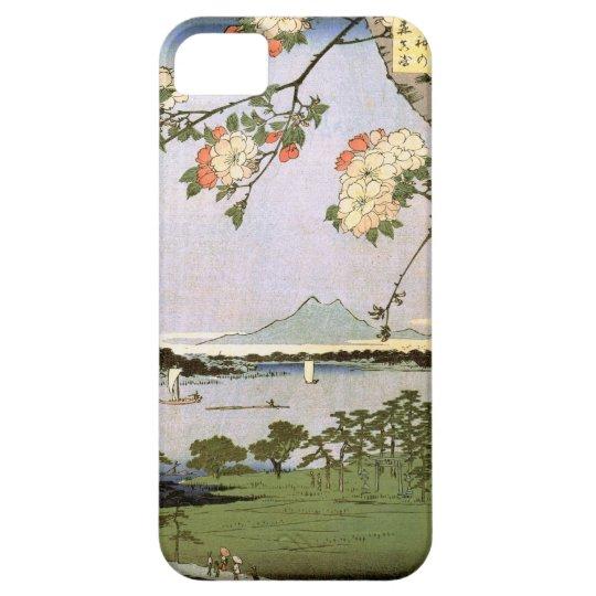 江戸の桜, 広重 Cherry Blossoms of Edo, Hiroshige, Ukiyoe