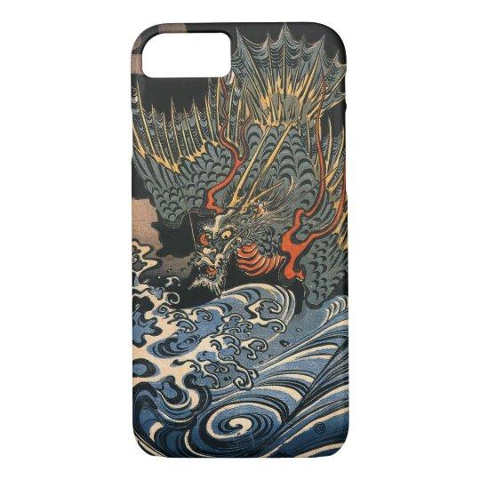 海龍, 国芳, Sea Dragon, Kuniyoshi, Ukiyo-e iPhone 8/7