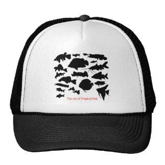 淡水性熱帯魚 影絵 優良製品 トラッカーキャップ