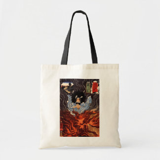火の男, 国芳 Man of The Fire, Kuniyoshi, Ukiyo-e Tote Bag