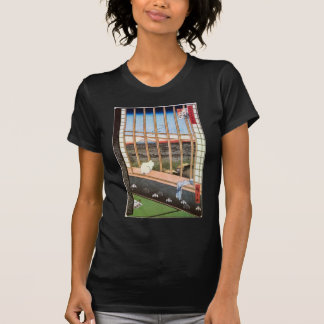 猫と富士山, 広重 Cat and Mount Fuji, Hiroshige T-Shirt