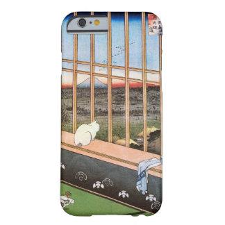 猫と富士山, 広重 Cat and Mount Fuji, Hiroshige, Ukiyo-e Barely There iPhone 6 Case