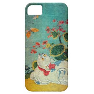 猫と蝶 春信 Cat and Butterfly Harunobu Ukiyo-e iPhone 5 Case