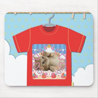 猫Tシャツ マウスパッド