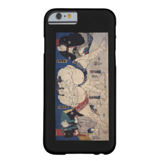 相撲, 国芳 Sumo Wrestling, Kuniyoshi, Ukiyo-e Barely There iPhone 6 Case