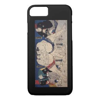 相撲, 国芳 Sumo Wrestling, Kuniyoshi, Ukiyo-e iPhone 7 Case