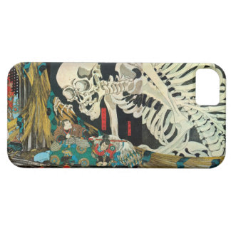 相馬の古内裏,国芳 Skeleton manipulated by Witch, Kuniyoshi iPhone 5 Cover