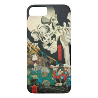 相馬の古内裏,国芳 Skeleton manipulated by Witch, Kuniyoshi iPhone 8/7 Case