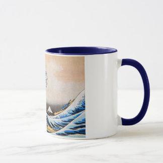 神奈川沖浪裏,北斎 Great Wave, Hokusai Mug