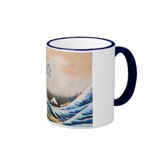 神奈川沖浪裏 北斎 Great Wave Hokusai Mugs