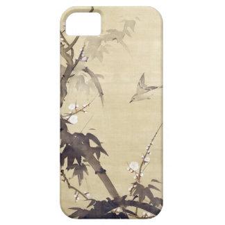 竹に鳥, 其一 Bird and Bamboo, Kiitsu, Japan Art iPhone 5 Cover