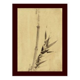竹 Bamboo 葛飾北斎 Katsushika Hokusai Post Card