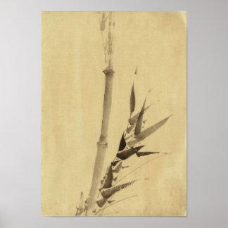 竹 Bamboo 葛飾北斎 Katsushika Hokusai Poster