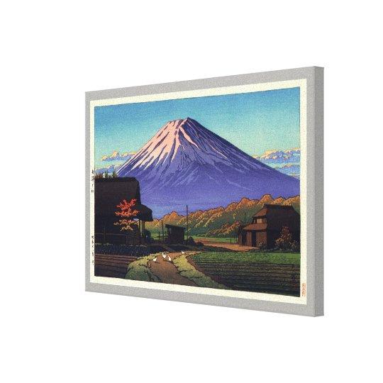 船津の富士, Mt. Fuji from Funatsu, Hasui Kawase Canvas