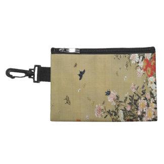 芍 medicine group butterfly figure Shakuyaku Accessory Bags