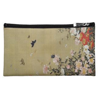 芍 medicine group butterfly figure Shakuyaku Cosmetic Bag