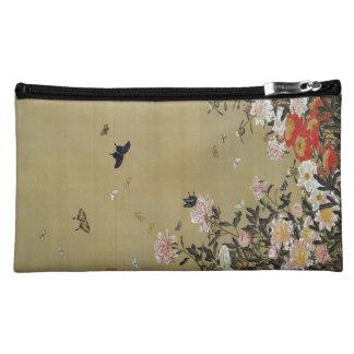 芍 medicine group butterfly figure Shakuyaku Makeup Bag