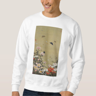 芍 medicine group butterfly figure Shakuyaku Sweatshirt