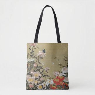 芍 medicine group butterfly figure Shakuyaku Tote Bag