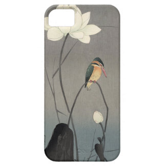 蓮にカワセミ, 古邨 Kingfisher on Lotus, Koson, Ukiyo-e Barely There iPhone 5 Case