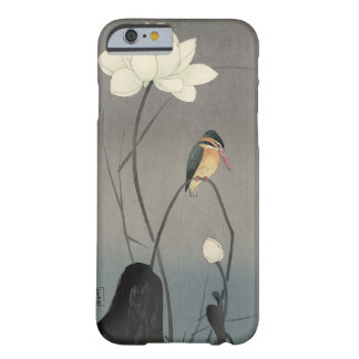 蓮にカワセミ, 古邨 Kingfisher on Lotus, Koson, Ukiyo-e Barely There iPhone 6 Case