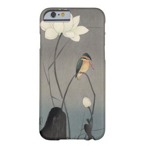 蓮にカワセミ, 古邨 Kingfisher on Lotus, Koson, Ukiyo-e iPhone 6 Case