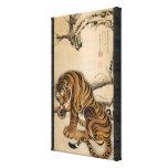 虎図, 若冲 Tiger, Jakuchu, Japan Art Stretched Canvas Prints